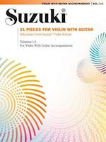 Suzuki Violin with Guitar Accompaniment, Vol. 1-3