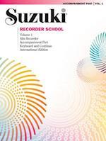 Suzuki Recorder School, Volume 1 (Suzuki Recorder School, nr. 1)