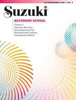 Suzuki Recorder School (Soprano Recorder), Vol 4 (Suzuki Recorder School, nr. )