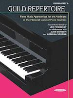 Guild Repertoire -- Piano Music Appropriate for the Auditions of the National Guild of Piano Teachers (Summy Birchard Edition)