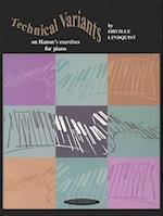 Technical Variants on Hanon's Exercises for Pianoforte
