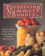 Preserving Summer's Bounty (Rodale Garden Book)