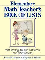 The Elementary Math Teacher's Book of Lists