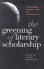The Greening of Literary Scholarship