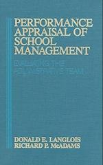 Performance Appraisal of School Management