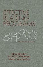 Effective Reading Programs