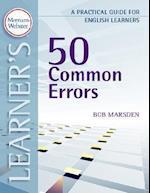 50 Common Errors