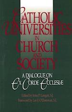 Catholic Universities in Church and Society