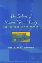 The Failure of National Rural Policy