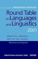 Georgetown University Round Table on Languages and Linguistics (GURT) 2001 af James E Alatis, Deborah Tannen