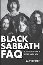 Black Sabbath FAQ (FAQ Series)