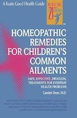 Homeopathic Remedies for 100 Children's Common Ailments (NTC Keats Health)