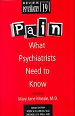 Pain (REVIEW OF PSYCHIATRY)