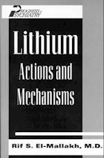 Lithium (PROGRESS IN PSYCHIATRY)