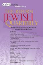 Preparing for the New Machzor - Ccar Journal, Summer 2013