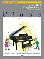 Alfred's Basic Piano Course Lesson Book (Alfred's Basic Piano Library)