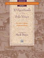 10 Spirituals for Solo Voice af Mark Hayes
