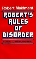 Robert's Rules of Disorder
