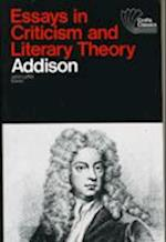 Essays in Criticism and Literary Theory af Joseph Addison