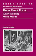 Home Front U.S.A. (THE AMERICAN HISTORY SERIES)