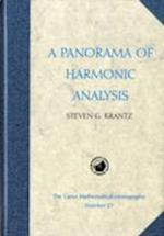 A Panorama of Harmonic Analysis (Carus Mathematical Monographs S, nr. 27)