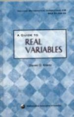 A Guide to Real Variables (DOLCIANI MATHEMATICAL EXPOSITIONS)