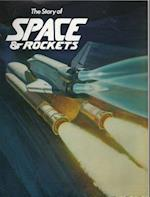 Space and Rockets Coloring Book