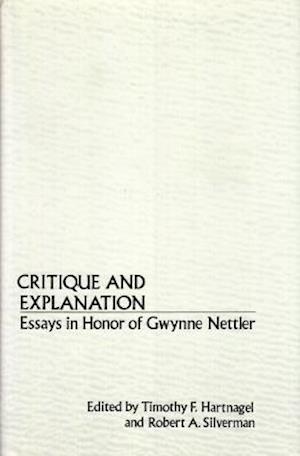 Critique and Explanation