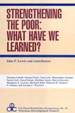 Strengthening the Poor (Us-Third World Policy Perspectives, nr. 10)