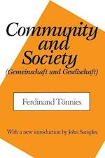 Community and Society af Ferdinand Toennies, Ferdinand Tonnies