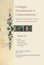 Catalogus Translationum Et Commentariorum (CATALOGUS TRANSLATIONUM ET COMMENTARIORUM)