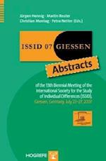 Issid 07 Giessen Abstracts