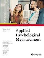Applied Psychological Measurement (Zeitschrift Fur Psychologie)
