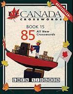 O Canada Crosswords Book 15 af Gwen Sjogren