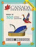 O Canada Crosswords Book 16 af Gwen Sjogren