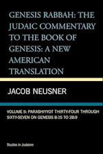 Genesis Rabbah (Neusner Titles in Brown Judaic Studies)