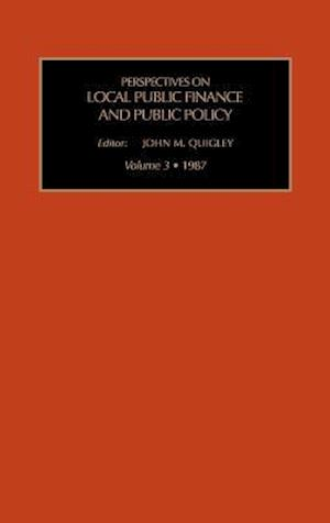 Local Public Finance and Public Policy