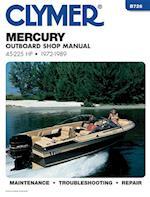 Mercury B726 Outboard Shop Manual 45-225 H.P., 1972-89