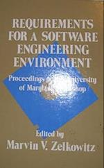 Requirements for a Software Engineering Environment (Ablex Series in Software Engineering)