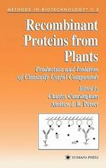 Recombinant Proteins from Plants af Cunningham