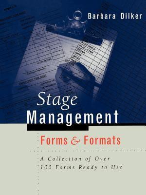 Stage Management Forms & Formats