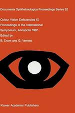 Colour Vision Deficiencies (DOCUMENTA OPHTHALMOLOGICA PROCEEDINGS SERIES, nr. 52)