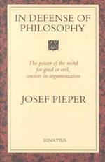In Defense of Philosophy