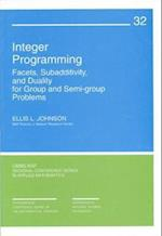 Integer Programming (C B M S - N S F REGIONAL CONFERENCE SERIES IN APPLIED MATHEMATICS, nr. 32)
