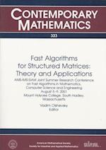 Fast Algorithms for Structured Matrices (Proceedings in Applied Mathematics S, nr. 113)
