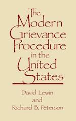 The Modern Grievance Procedure in the United States