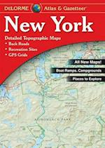 New York Atlas & Gazetteer (NEW YORK STATE ATLAS AND GAZETTEER)
