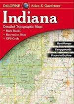 Indiana Atlas & Gazetteer (Delorme Atlas Gazetteer)