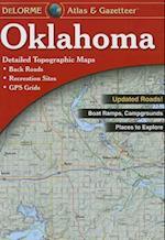 Oklamona Atlas & Gazetteer (Delorme Atlas Gazetteer)