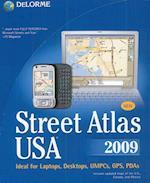 USA Street Atlas USA 2009 DVD af Delorme